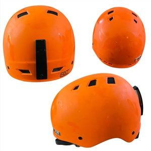 Holt Orange Biking Helmet